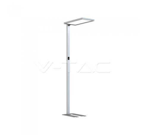 V-TAC 80W LED Állólámpa érintős fényszabályzóval szürke 4000K - 8521
