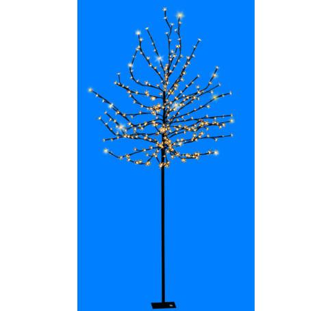 LED-es cseresznyefa dekoráció, 2m, 230V