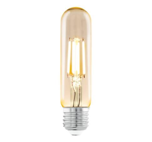 LED fényf.E27 T32 1x3,5W2200Kborostyán