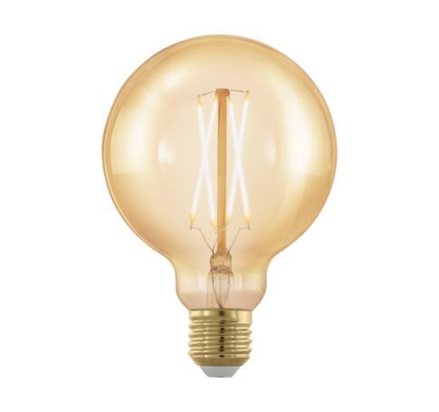 LED fényforrás E27 G95 4W 1700K 320Lm