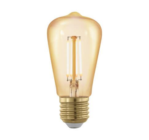 LED fényforrás E27 ST48 4W 1700K 320Lm