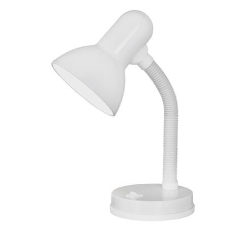 Írósztali lámpa 1*40W fehér Basic 13087
