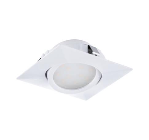 LED beépít.6W 8,4cm szögl.fehér Pineda