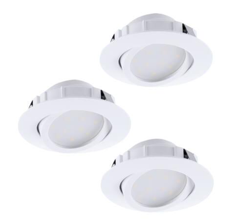 LED beépíthető 3x6W 8,4cm fehér Pineda