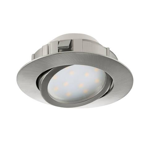LED beépíthető 6W 8,4cm mnikkel Pineda