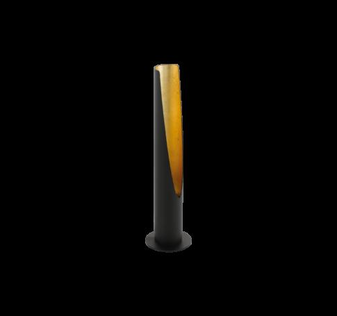 Aszt.GU10LED 1x5Wfekete/arany Barbotto