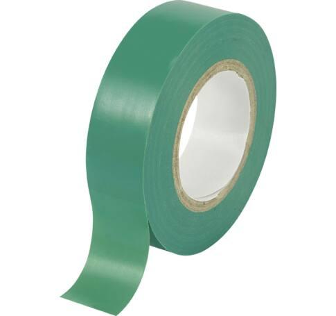 Szigetelőszalag, 19mm x 10m, zöld
