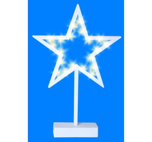 LED-es asztali dísz, csillag