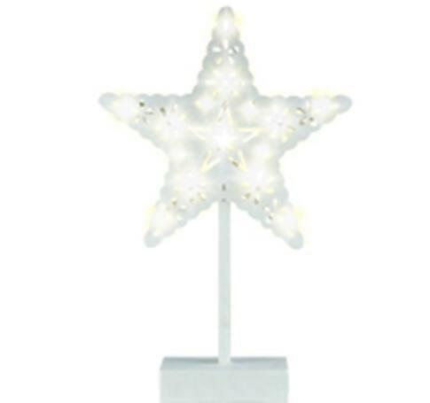 LED-es csillag asztal dísz