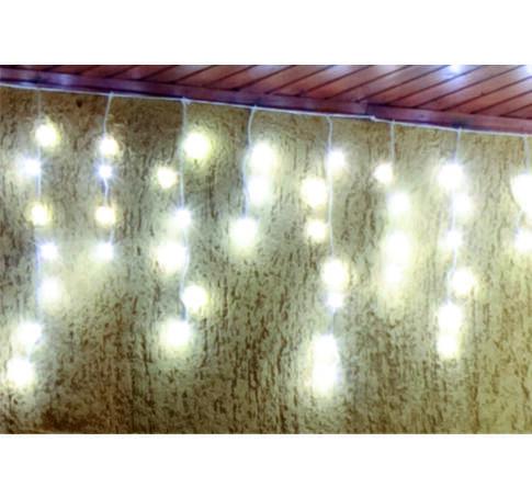 LED-es fényfüggöny, 3m, 8 prg