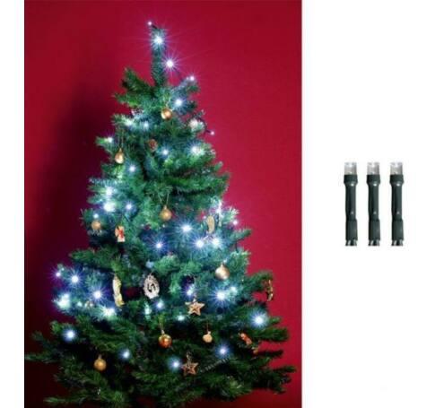 LED-es beltéri fényfüzér, hidegfehér, 200 LED