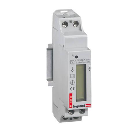 Lexic fogyasztásmérő 1F direkt 32A imp.kimenet