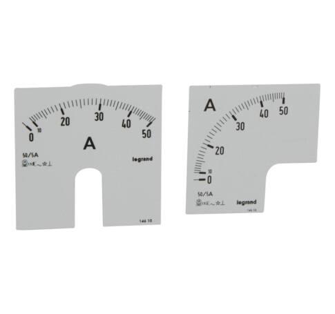 Lexic A mérőskála 0-50A