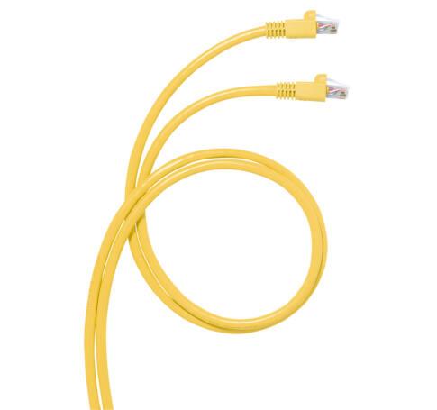 LEGRAND konszolidációs patch kábel RJ45-RJ45 Cat6A árnyékolt (S/FTP) LSZH (LSOH) 8 méter sárga d: 6 mm AWG26 LCS3