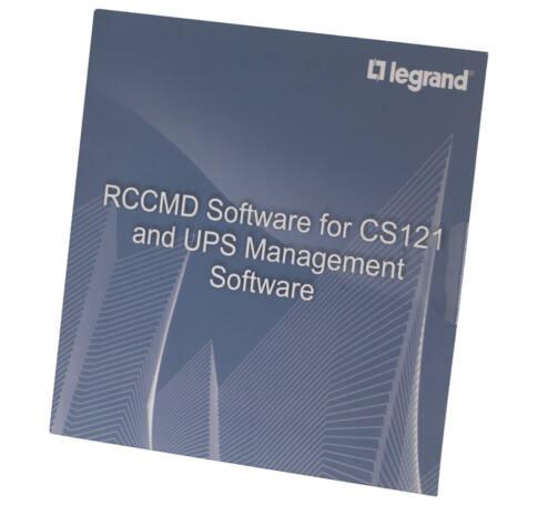 LEGRAND UPS szoftver RCCMD AS/400 1LIC