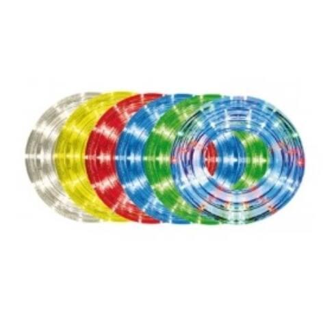 10m,13mm, 8pr., kék LED vil. cső