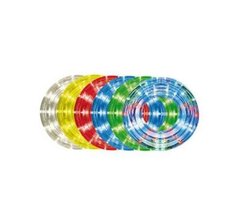 10m,13mm, 8pr., többszínű LED vil. cső