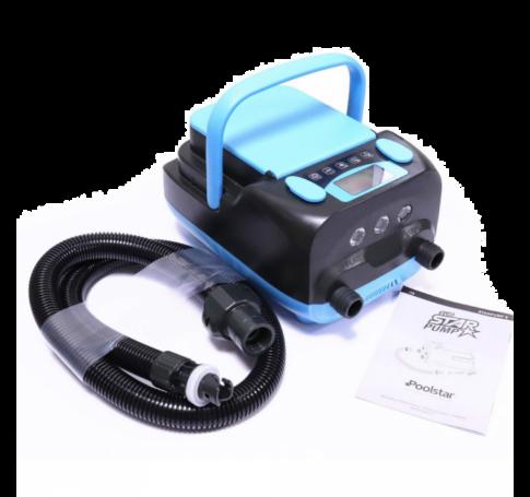 Akkumulátoros SUP pumpa 16 Psi, 350 liter percenként