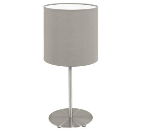 Asztali E14 1x40Wmnik/szürkésbPasteri