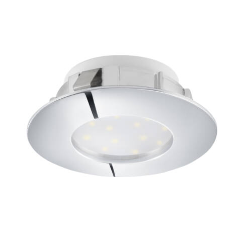 LED beépíthető 6W 7,8cm króm fixPineda