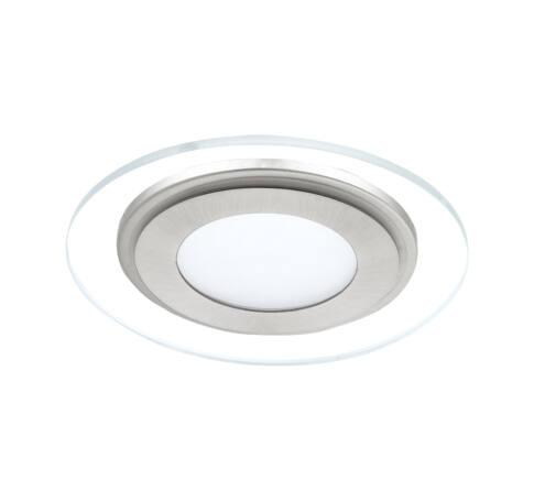 LED beép.12W fehér/mattnikkel Pineda1