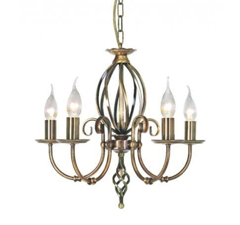 ELSTEAD Artisan 5Lt csillár  bronz